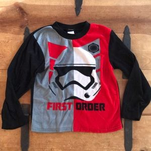 Star Wars Boys Stromtrooper Pajama Top